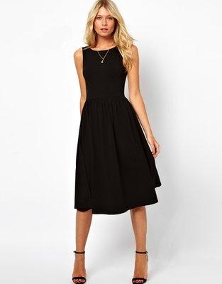 fdd4e9f5393 Винтажное платье классическое Мисс Лорейн от рр40 по рр46 трикотажное  безрукавка с круглым вырезом