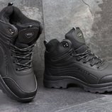 Зимние мужские ботинки Ecco black