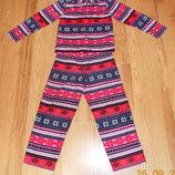 Флисовая пижама George для девочки 7-8 лет. 122-128 см