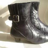 Ботинки,сапожки кожа везде lloyd на ножку 23,5 см фиолетовые германия