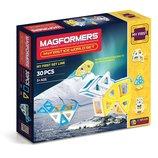Magformers Магнитный конструктор Мой ледяной мир 30 дет. My First Ice World Set 30-pieces
