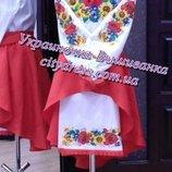 платье с вышивкой ,вишиванка платье пошив в нужном размере