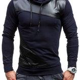 Мужская кофта с воротником-хомутом 2 цвета AL6873