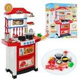 Кухня 889-3 духовка, мойка, посуда, свет, звук
