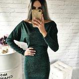 Мини-Платье ангора Лилиан