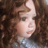 Коллекционная фарфоровая кукла от Georgina Whalley