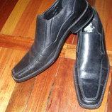 Туфли кожаные р.46 по стельке 32см. б/у но в отличном состоянии.