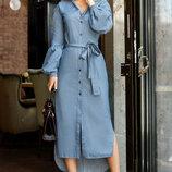Аккуратное платье-миди