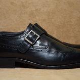Туфли, монки Bally Welted оксфорды, броги. Швейцария. Оригинал. 43 р./ 28 cм.