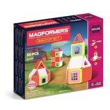 Magformers Магнитный конструктор домик 50 дет. Build Up Set 50 Piece