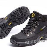 Кожаные зимние ботинки Merrell M 102 - 1 черные