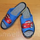 Детские тапочки Белста с открытым носочком р-р 30-35