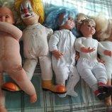 Цена за 6.alina toys Большая кукла коллекционная германия пупс роксана Gotz готц алина клоун винтаж