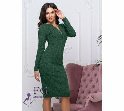 Платье с молнией из ангоры 42-44 46-48
