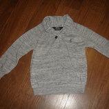 Фирменный Rebel свитер пуловер мальчику 3-4 лет идеал