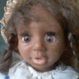 Кукла Куколка мулатка Германия редкая 17 см клеймо Симба