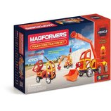 Magformers Магнитный конструктор строительная техника 47 дет. Vehicle Power Construction Set 47 Piec