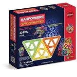 Magformers Магнитный конструктор Супер набор 30 дет. Standard Super Magformers Set 30 Piece