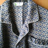 Верх пижамы мужской - рубашка атлас