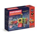 Magformers Магнитный конструктор Силовой транспорт 81 дет. радиоуправляемый Power Vehicle Set 81 Pie