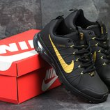 Кроссовки мужские Nike Flywire black/gold