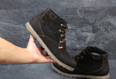 Ботинки зимние Levis brown, замш  1020 грн - ботинки, сапоги levis в ... 07df2164d40