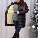 Пальто,,суровая зима Размер 44-46, 48-50,52-54.