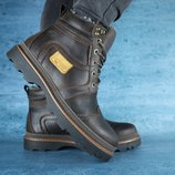 Ботинки кожа зима 40-45