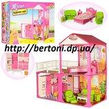 Кукольный домик 6982B с мебелью