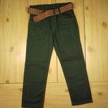Детские котоновые брюки для мальчика рр. 110-134 Beebaby Бибеби