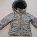 Куртка на девочку демисезон, еврозима рост 104
