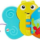Fisher-Price Игрушка для купания ванной Бабочка-Книжка Butterfly Bath Book CMY31