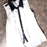 Белая блузка Candy Couture 14 лет рост 158-164см ог 84