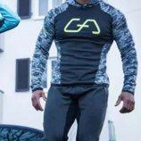 Мужской спортивный костюм приталенного фасона AL7246