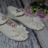 29 размер Шикарные новые фирменные туфли туфельки девочке под любой наряд