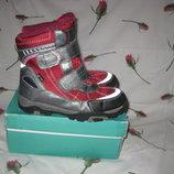Сапоги ботинки термо Pepperts Tex Германия 32 размер по стельке 20,5 см.Кожаные, Зимние . В идеально