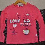 Реглан, кофта, свитер , для девочки 5 - 6 лет