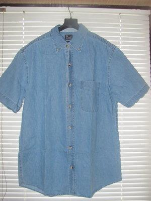 Мужская джинсовая рубашка Denim Twill размер XL