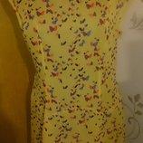 стильна легка жовта сукня р42 Limited Collection