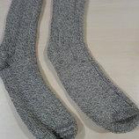 Теплые носки вязанные