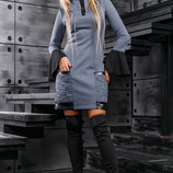 Стильное и оригинальное платье 871