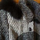 пальто демисезон/зимнее М-L-Xl,с капюшоном