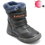 Натуральные зимние ботинки для мальчика Calorie 26-31р