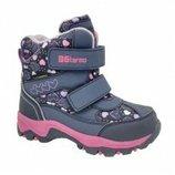 Термо ботинки для девочки B&G