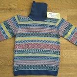 Шерстяной свитер в наличии от 98 до 122