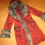 Куртка, пальто зимнее, демисезонное 44 размер.