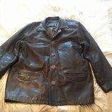Куртка кожаная.мужская.р.50-52