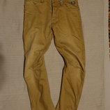 Плотные х/б джинсы с анатомическим кроем штанин Core by Jack & Jones Дания 31/30.