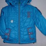 Куртка 2-й синтепон флис р.98/104. Распродажа