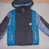 Куртка 2-й синтепон флис-подклад р.98-110.